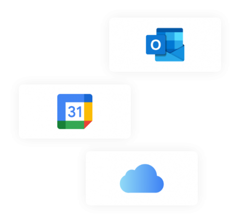 Keep up-to-date with calendar integrations