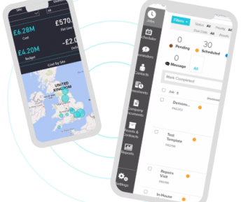 Mobile screenshots of the Passport 365 App.